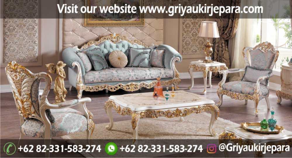 Sofa Ruang Tamu Modern Griya Ukir Jepara 35 - 100+ Model Sofa Ruang Tamu Jati Mewah