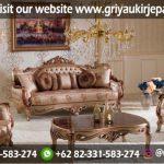 Sofa Ruang Tamu Mewah Ukiran Jepara