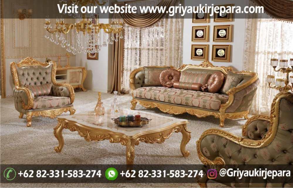 Sofa Ruang Tamu Modern Griya Ukir Jepara 38 - Sofa Ruang Tamu Jati Mewah Klasik