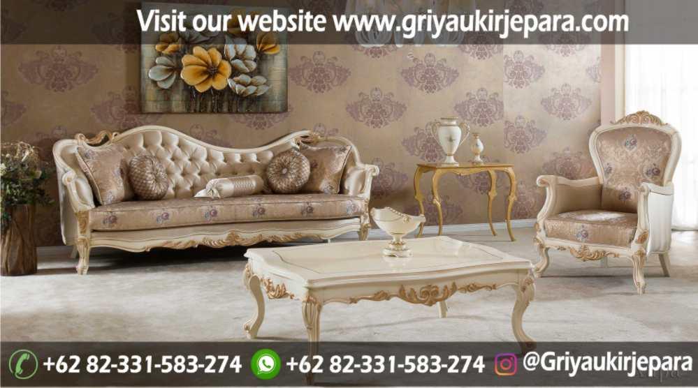 Sofa Ruang tamu mewah limited edition