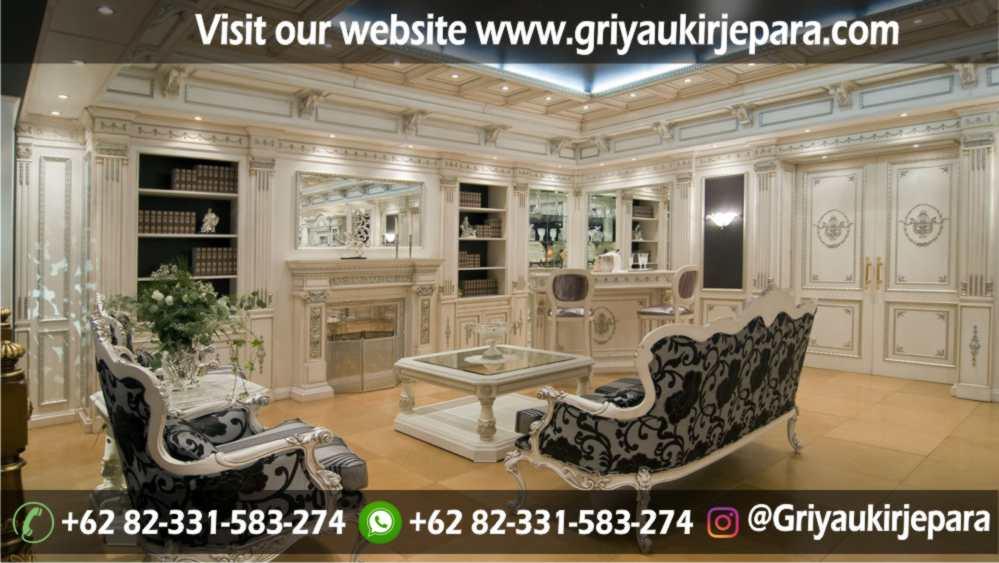 Sofa Ruang Tamu Modern Griya Ukir Jepara 42 - 100+ Model Sofa Ruang Tamu Jati Mewah