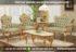 Sofa Ruang Tamu Ukir Warna Gold SRT 110-105