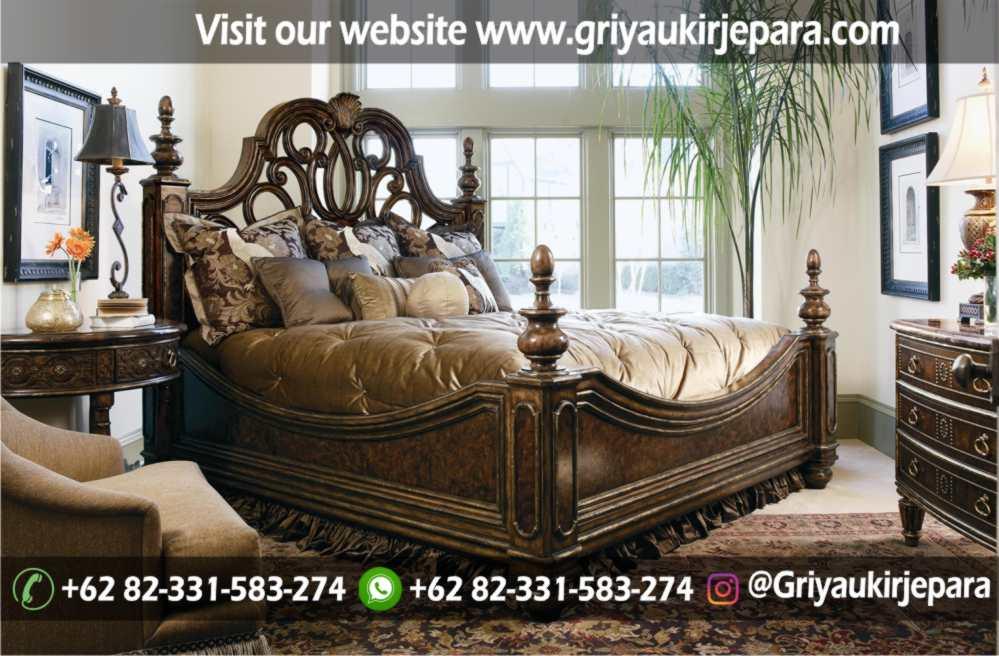 gambar kamar set modern dan klasik ukiran Jepara griya ukir jepara 17 - 10+ Desain Kamar Set Mewah Modern Jepara