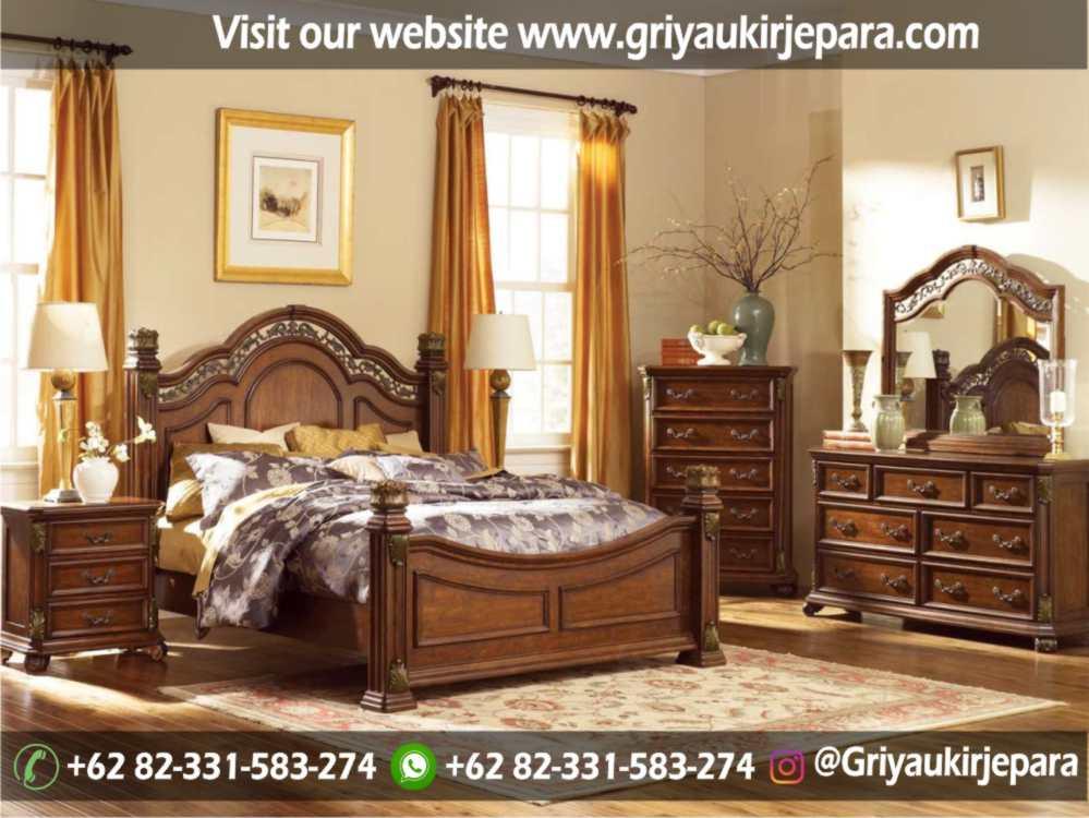 gambar kamar set modern dan klasik ukiran Jepara griya ukir jepara 23 - 10+ Desain Kamar Set Mewah Modern Jepara