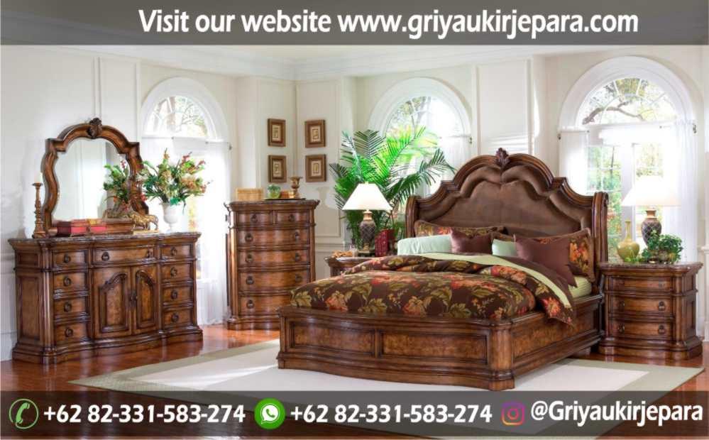 gambar kamar set modern dan klasik ukiran Jepara griya ukir jepara 3 - 10+ Desain Kamar Set Mewah Modern