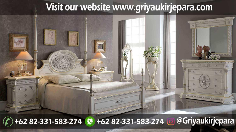 gambar kamar set modern dan klasik ukiran Jepara griya ukir jepara 7 - 10+ Desain Kamar Set Mewah Modern