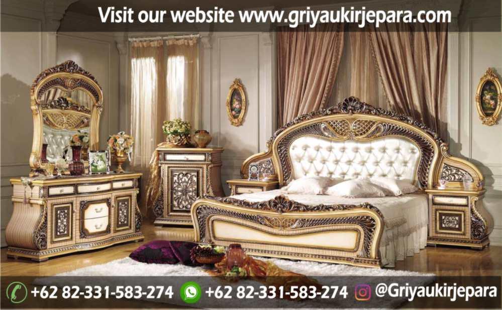 gambar kamar set modern dan klasik ukiran Jepara griya ukir jepara 9 - 10+ Desain Kamar Set Mewah Modern