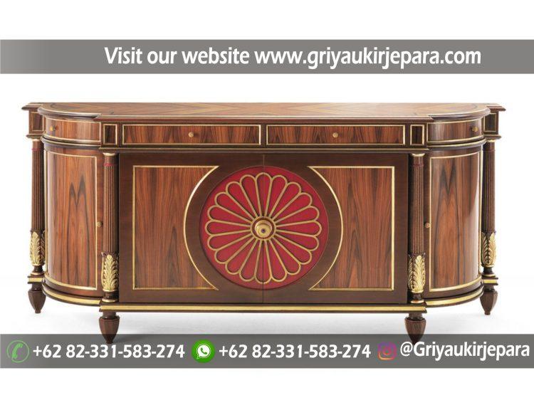 drawer atau meja konsul modern mewah griya ukir jepara