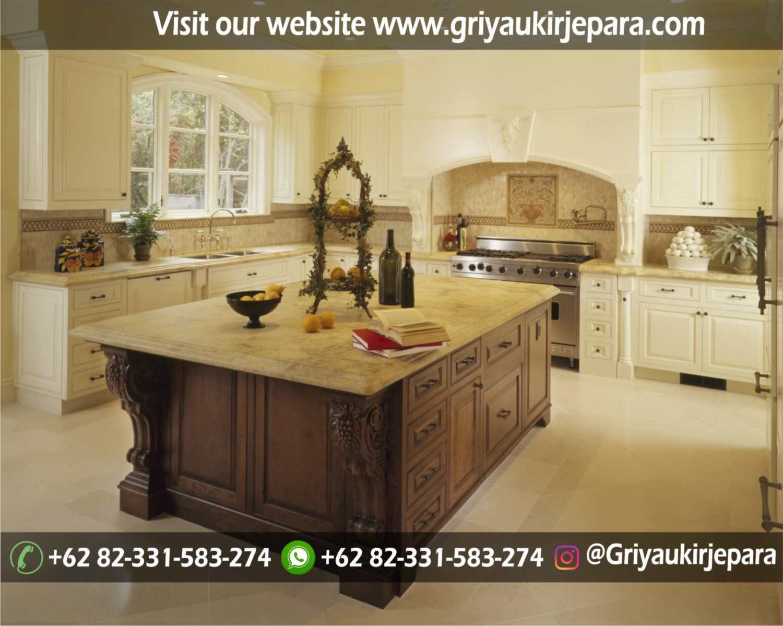 meja stool bar atau meja kitchen set