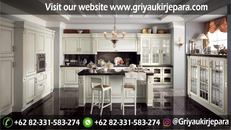 model kitchen set mewah dan minimalis Jepara Griya Ukir Jepara 23 - 10+ Model Kitchen Set Mewah Griya Ukir Jepara