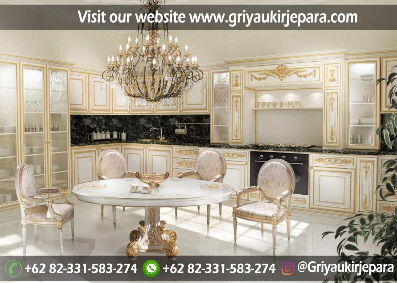 model kitchen set mewah dan minimalis Jepara Griya Ukir Jepara 27 - 10+ Model Kitchen Set Mewah Griya Ukir Jepara
