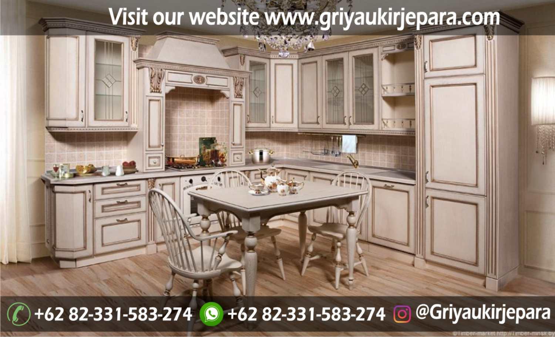 model kitchen set mewah dan minimalis Jepara Griya Ukir Jepara 31 - 10+ Model Kitchen Set Mewah Griya Ukir Jepara