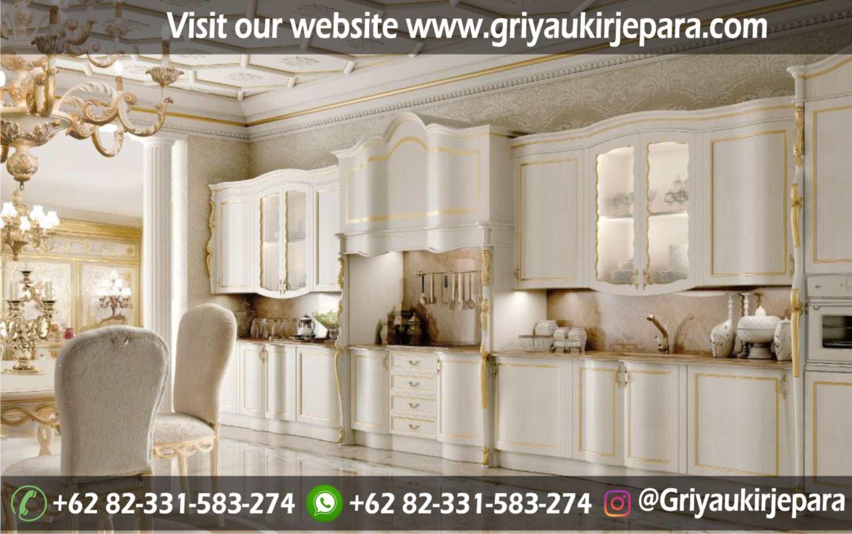 10+ Model Kitchen Set Mewah Griya Ukir Jepara