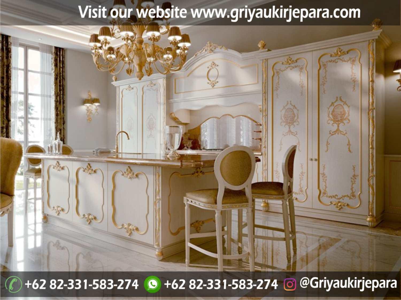 model kitchen set mewah dan minimalis Jepara Griya Ukir Jepara 37 - 10+ Model Kitchen Set Mewah Griya Ukir Jepara