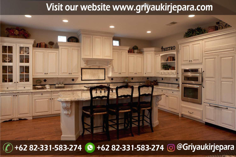 model kitchen set mewah dan minimalis Jepara Griya Ukir Jepara 43 - 10+ Model Kitchen Set Mewah Griya Ukir Jepara