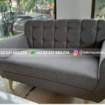 sofa ruang tamu jati minimalis full jok