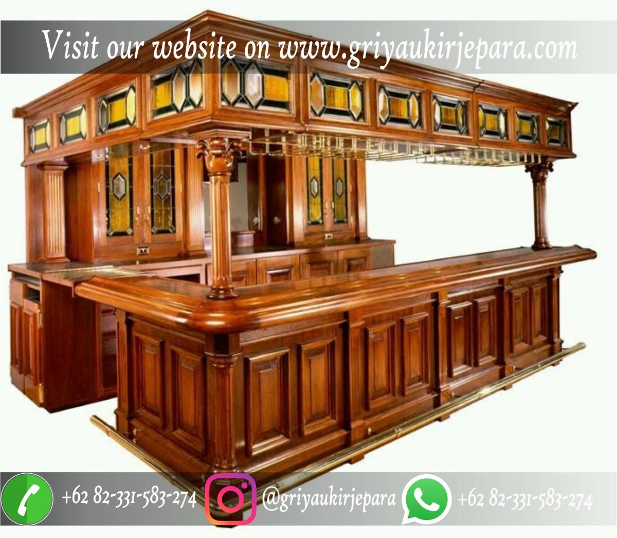 meja bar mewah klasik