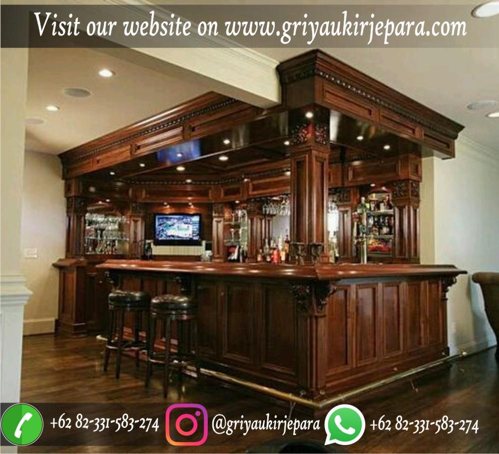 meja bar klasik mewah
