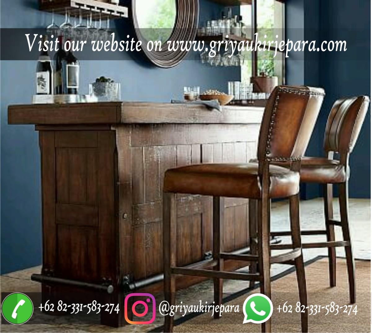 Meja dan Kursi Bar Minimalis