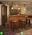 Meja Dan Kursi Bar Cafe Minimalis