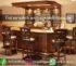 Meja Bar Atau Minibar Jati Klasik Jepara Kode MB 002-006