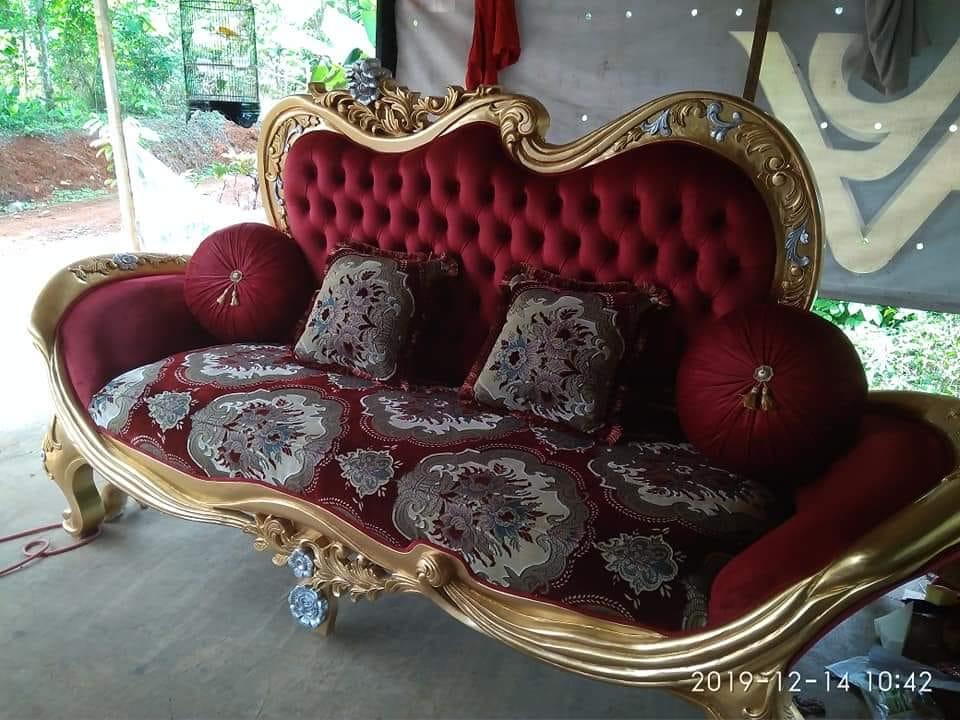 sofa ruang tamu jati 1 - Sofa Ruang Tamu Jati Full Jok Murah
