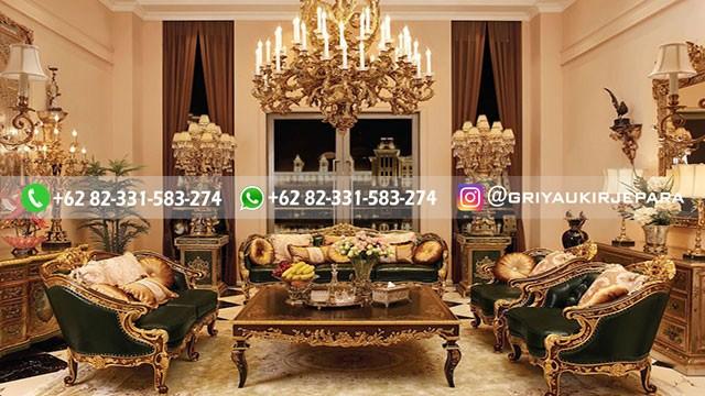 sofa ruang tamu jati mewah griya ukir jepara 1 - 100+ Model Sofa Ruang Tamu Jati Mewah