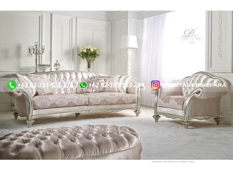 sofa ruang tamu jati mewah griya ukir jepara 105 - 50+ Sofa Ruang Tamu Jati Murah