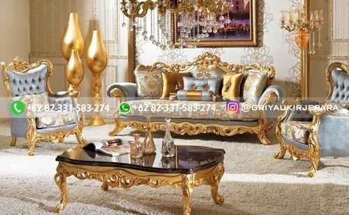 sofa ruang tamu jati mewah griya ukir jepara 108 - 50+ Sofa Ruang Tamu Jati Murah
