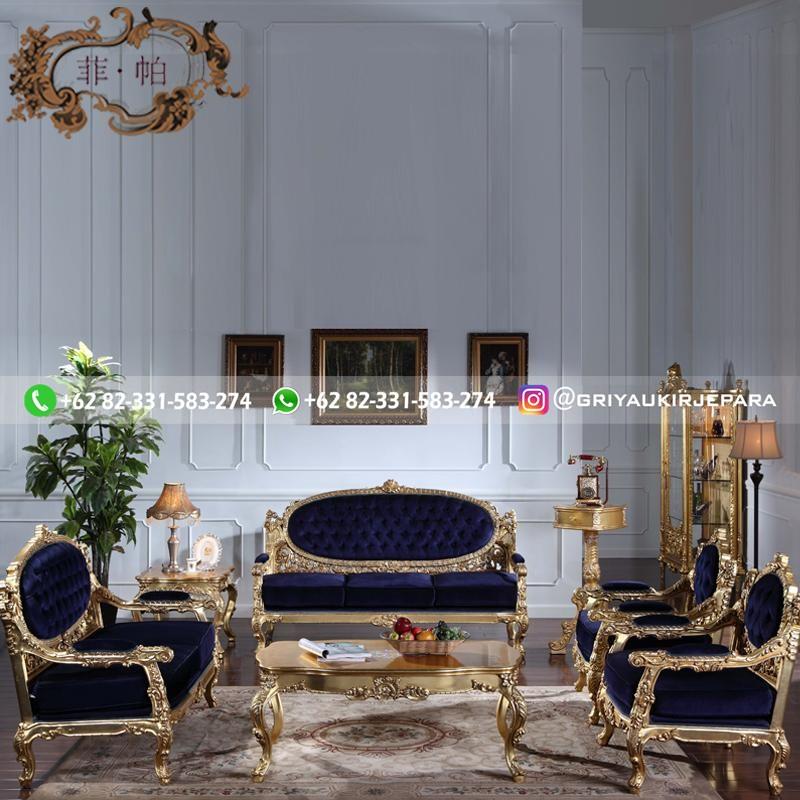 sofa ruang tamu jati mewah griya ukir jepara 109 - 17 Gambar Sofa Ruang Tamu Jati Murah