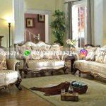 sofa ruang tamu jati mewah