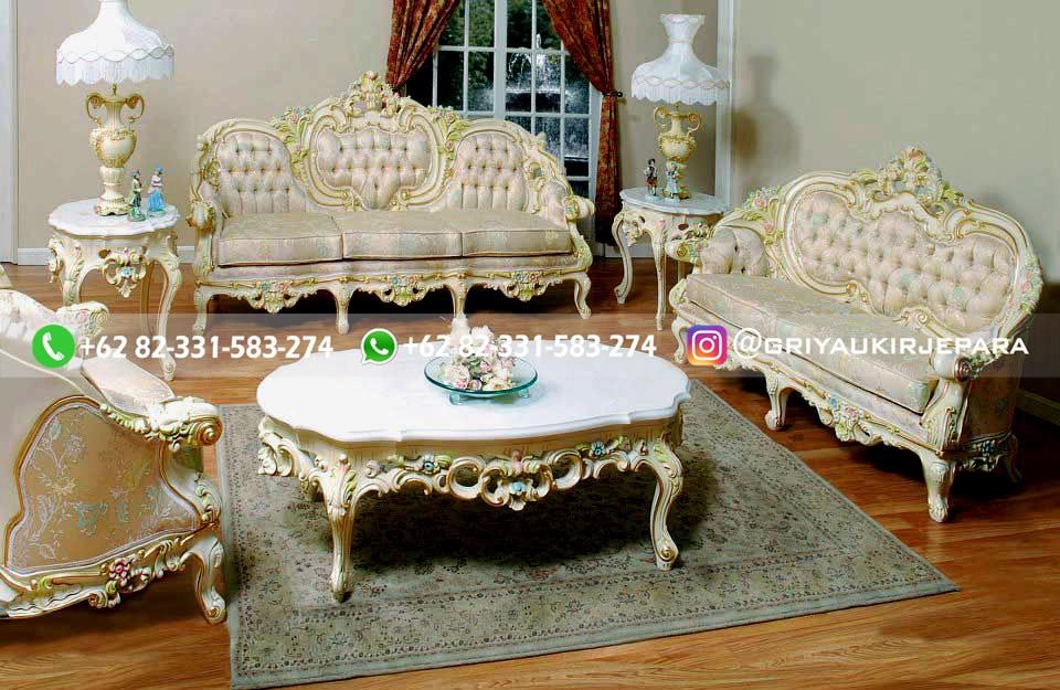 sofa ruang tamu jati mewah griya ukir jepara 120 - 50+ Sofa Ruang Tamu Jati Murah