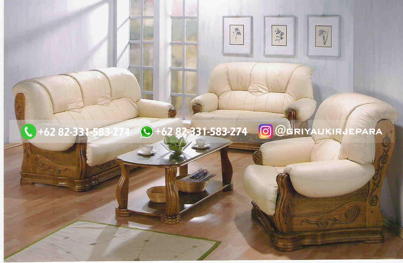 sofa ruang tamu jati mewah griya ukir jepara 123 - 100+ Model Sofa Ruang Tamu Jati Mewah