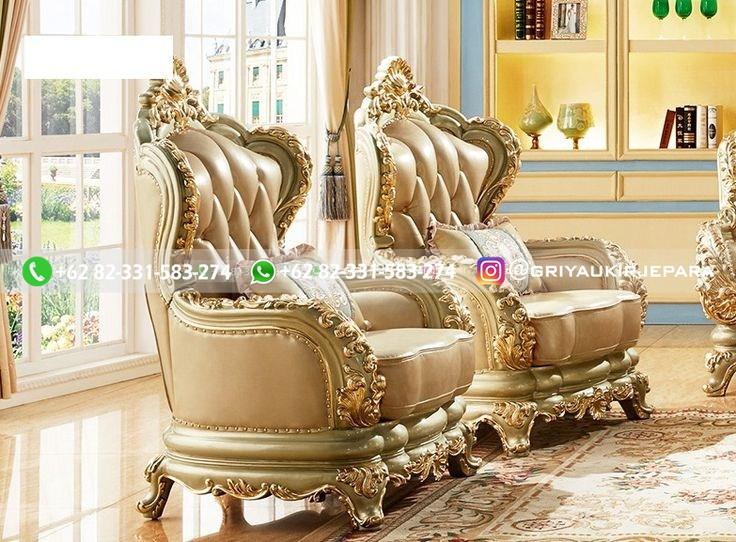 sofa ruang tamu jati mewah griya ukir jepara 133 - Sofa Ruang Tamu Jati Klasik Mewah