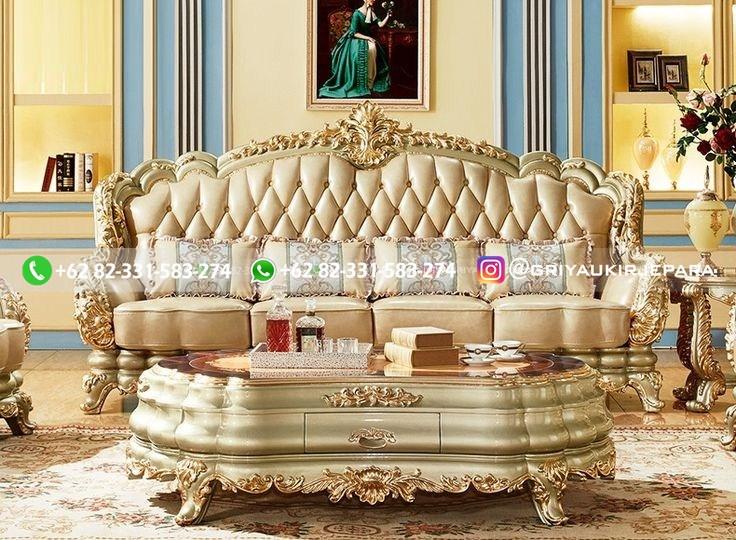 sofa ruang tamu jati mewah griya ukir jepara 134 - Sofa Ruang Tamu Jati Klasik Mewah