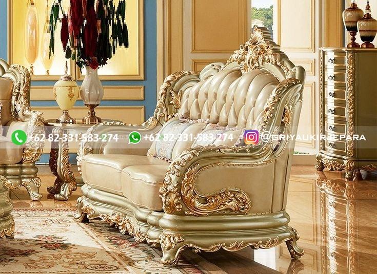 sofa ruang tamu jati mewah griya ukir jepara 135 - Sofa Ruang Tamu Jati Klasik Mewah