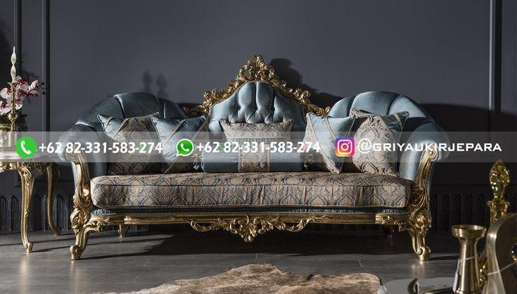 sofa ruang tamu jati mewah griya ukir jepara 137 - 15+ Sofa Ruang Tamu Jati Mewah Murah