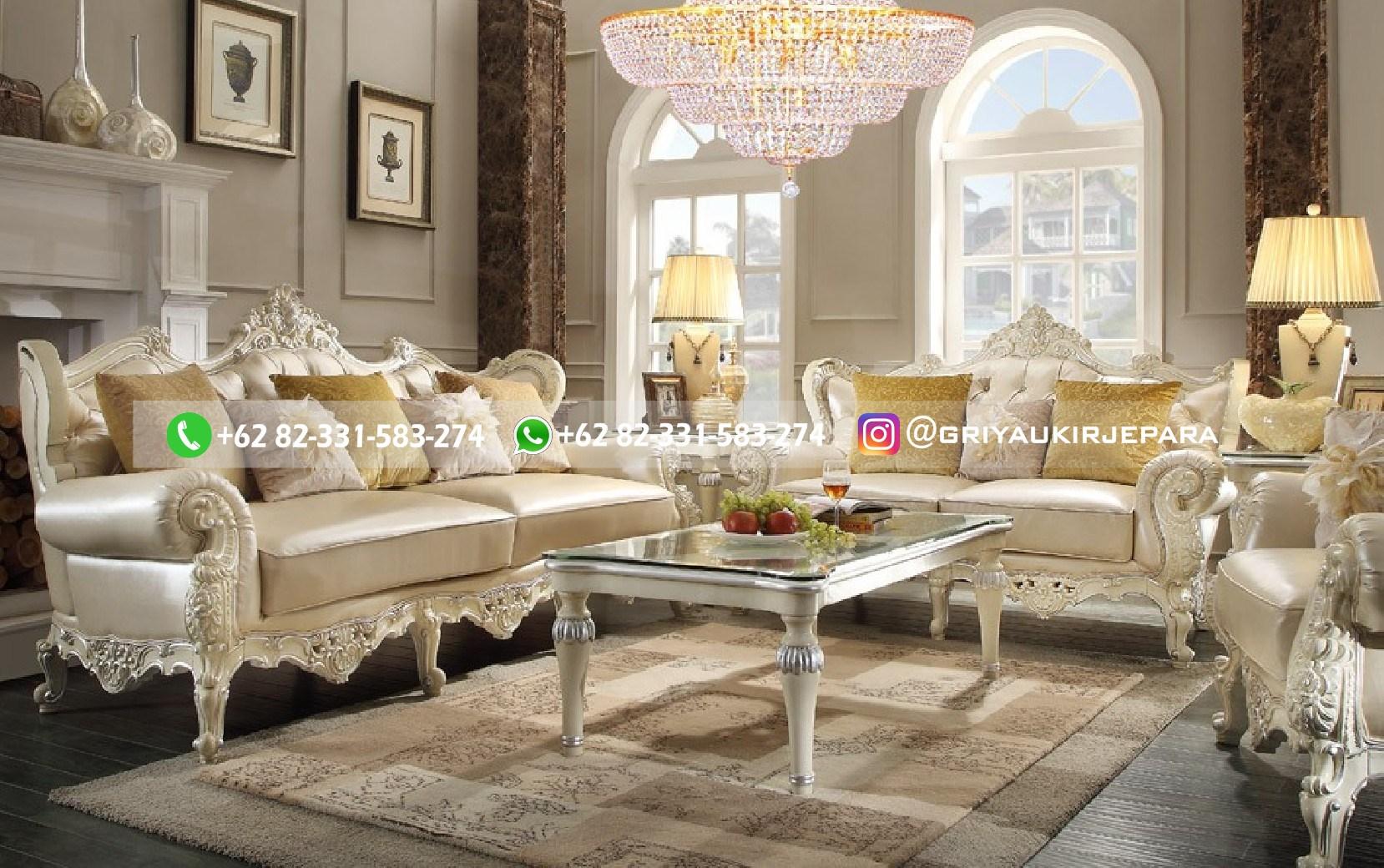 sofa ruang tamu jati mewah griya ukir jepara 86 - 70 Sofa Ruang Tamu Jati Mewah Murah