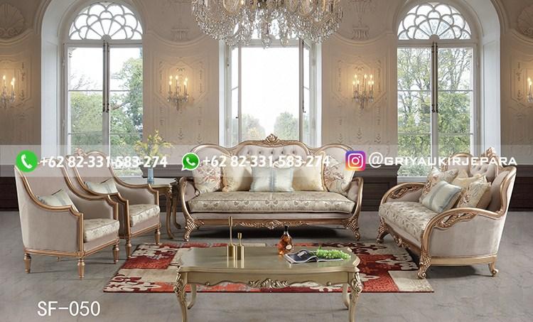 sofa ruang tamu jati mewah griya ukir jepara 90 - 50+ Sofa Ruang Tamu Jati Murah