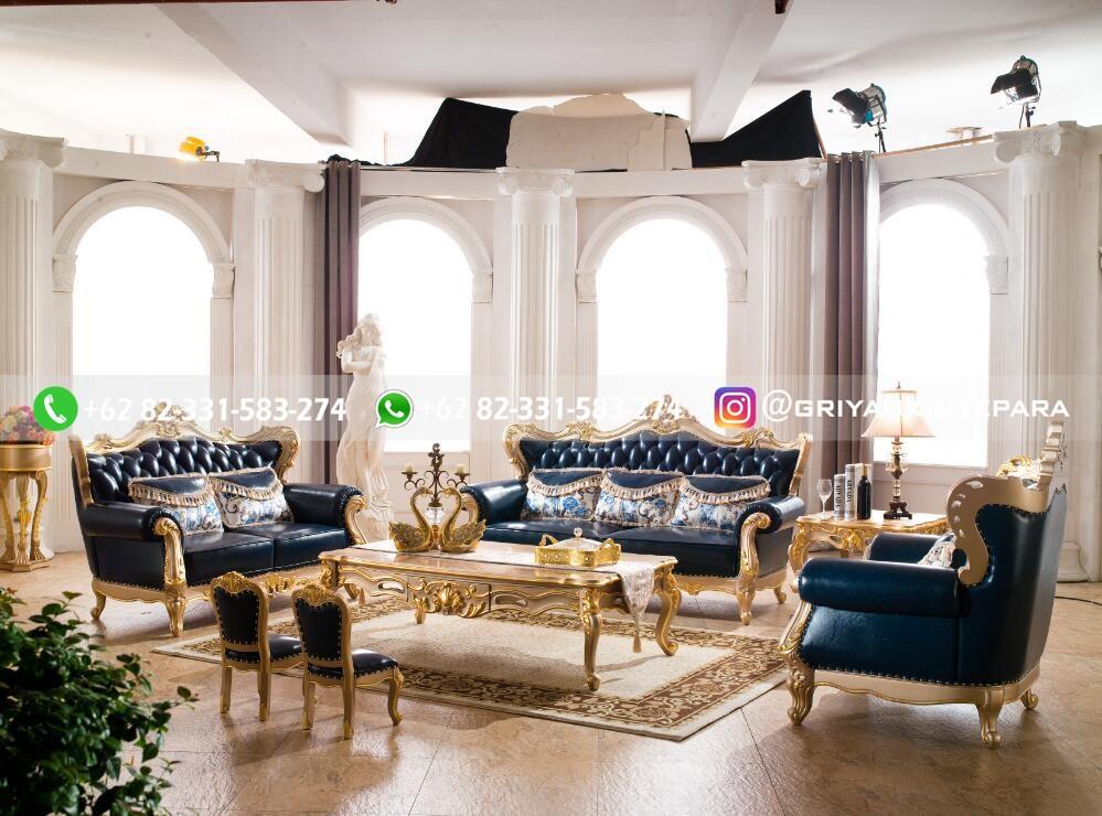 sofa ruang tamu jati mewah griya ukir jepara 91 - 50+ Sofa Ruang Tamu Jati Murah