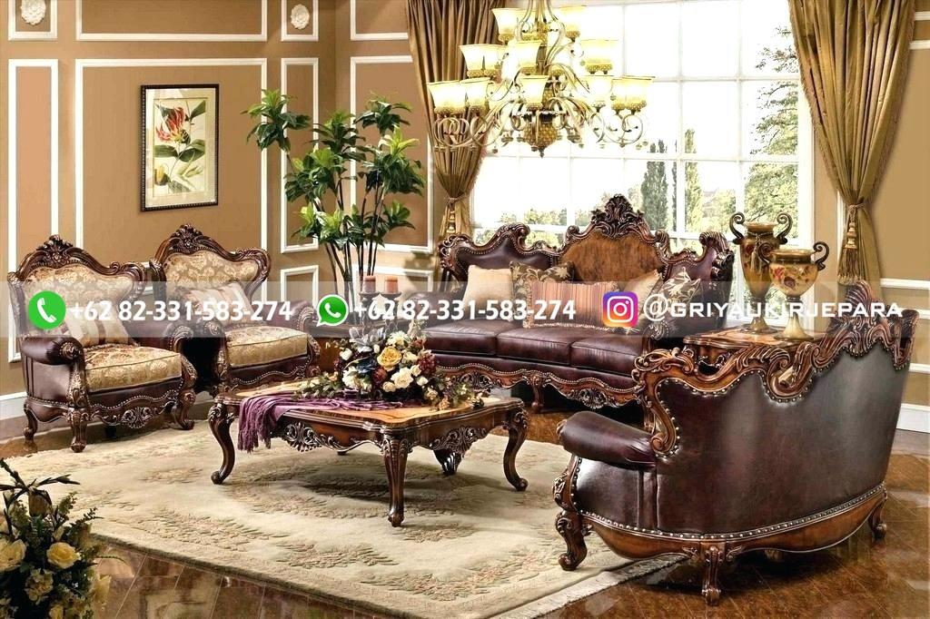 sofa ruang tamu jati mewah griya ukir jepara 94 - 50+ Sofa Ruang Tamu Jati Murah
