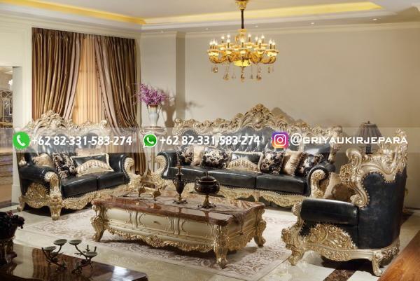 sofa ruang tamu jati mewah griya ukir jepara 97 - 50+ Sofa Ruang Tamu Jati Murah
