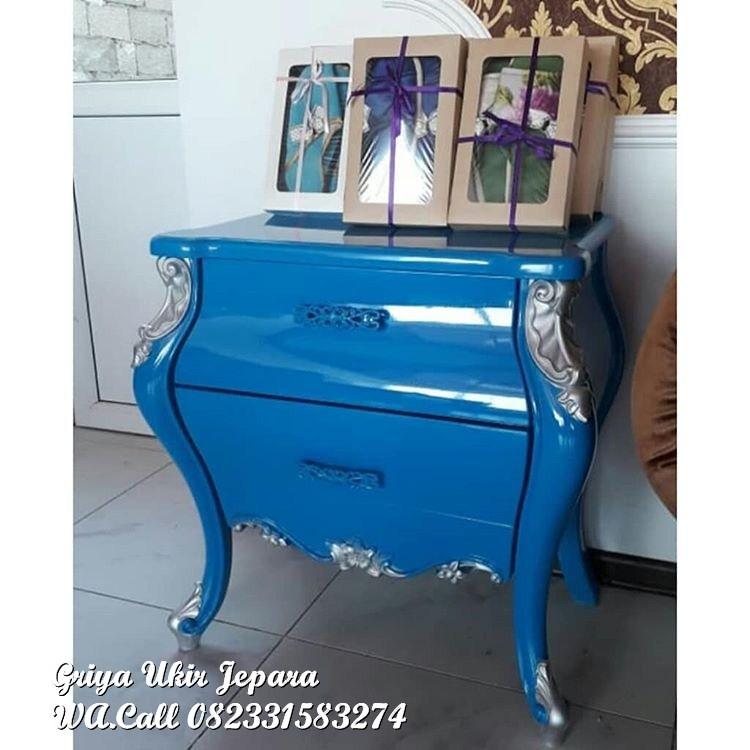 Nakas Modern warna biru