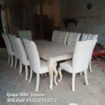 meja makan 10 kursi