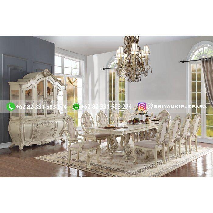 meja makan 10 kursi mewah e1582342126550 - 10+ Meja Makan Jati 8 Kursi Mewah