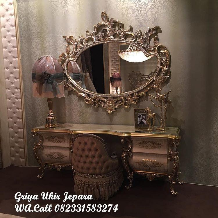 meja rias mewah luxury