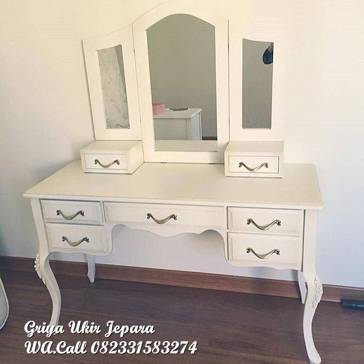 meja rias modern duco - Meja Rias Modern Warna Putih Kode 156