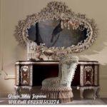 meja riaas mewah full ukiran warna modern