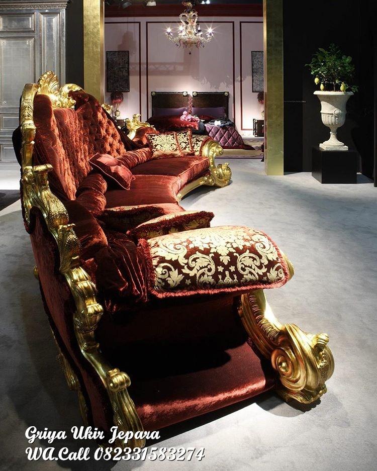 sofa ruang tamu jati jackson 1 - Sofa Ruang Tamu Jati Jackson Mewah