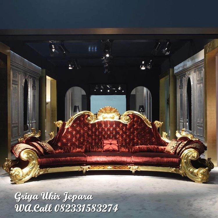 sofa ruang tamu jati jackson 2 - Sofa Ruang Tamu Jati Jackson Mewah